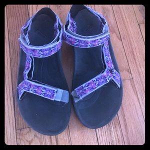 Girls Teva Sandals